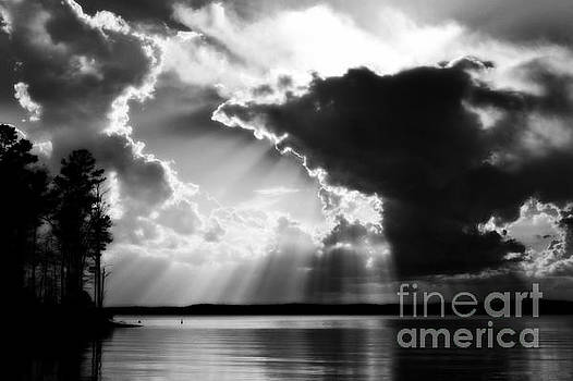 Divinely Dramatic Sunset by Kelly Nowak