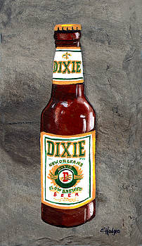 Dixie Beer Bottle by Elaine Hodges