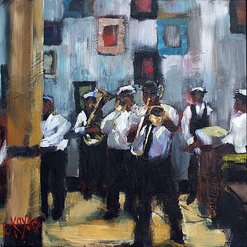 Dixieland Band by Claire Kayser