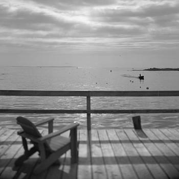 Dock and Chair by Rod Kaye