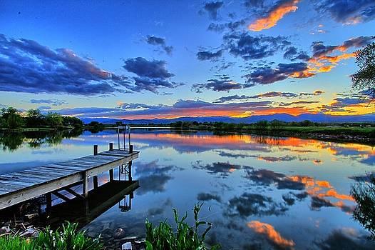 Dock Glow by Scott Mahon