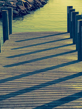 TONY GRIDER - DOCK IN GREEN SHADOWS