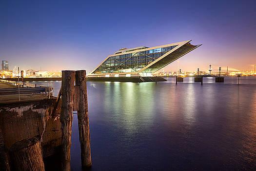 Dockland At Night by Marc Huebner