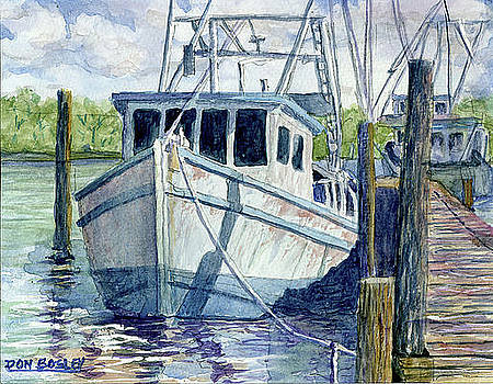 Dockside by Don Bosley