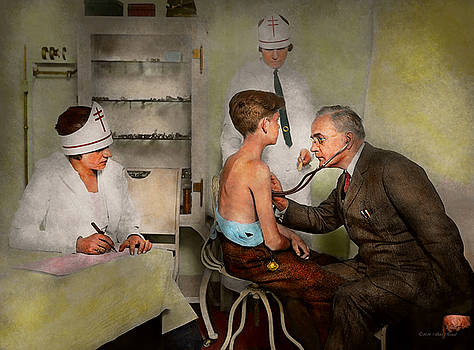 Mike Savad - Doctor - At the pediatricians office 1925