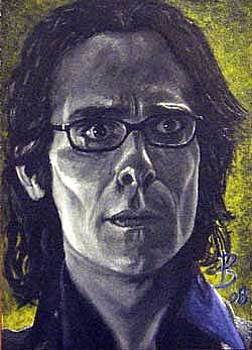 Doctor Baltar sketch card by Daniel Bergren