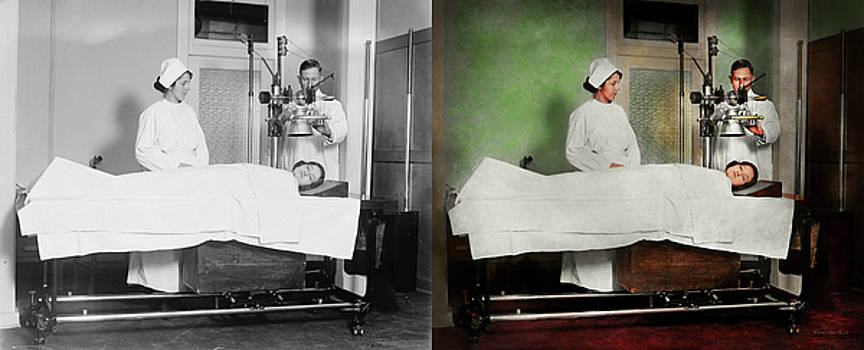 Doctor - Xray - Getting my head examined 1920 - Side by Side by Mike Savad