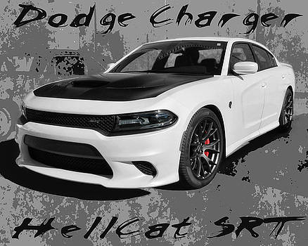 Dodge Charger Hellcat SRT by Victor Montgomery
