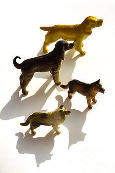 BERNARD JAUBERT - Dogs figurines