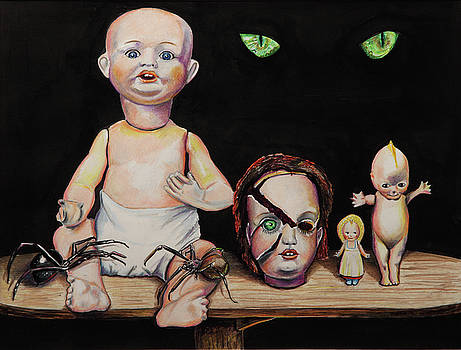 Dolls and Spiders by Chris Benice