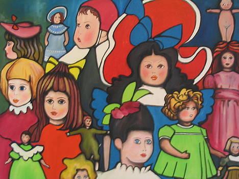 Dolls by Jorge Parellada