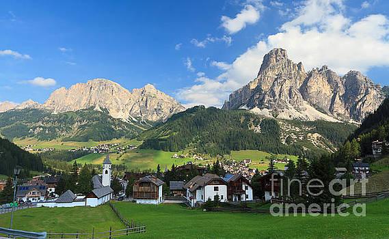 Dolomites - Corvara in Badia by Antonio Scarpi