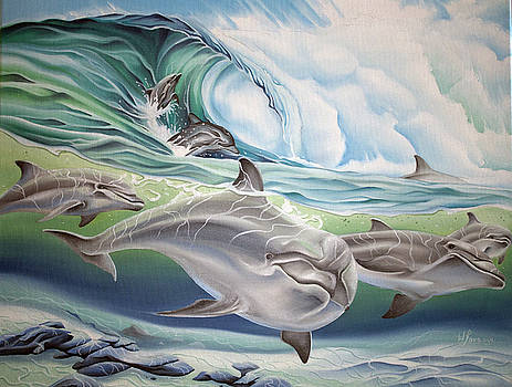 Dolphin 2 by William Love