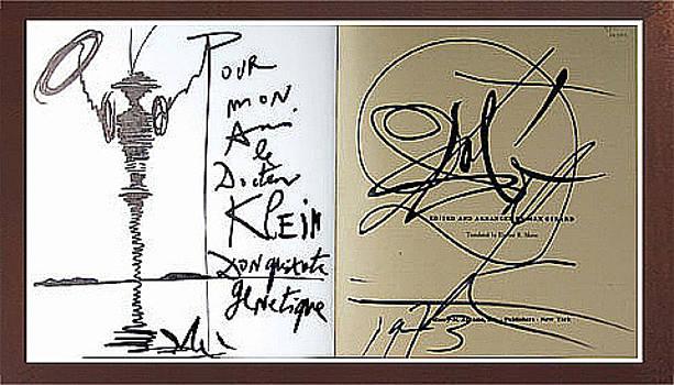 Don Quixote In The Candy Box Book by Salvador Dali