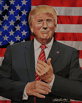 Donald J. Trump by Bill Dunkley