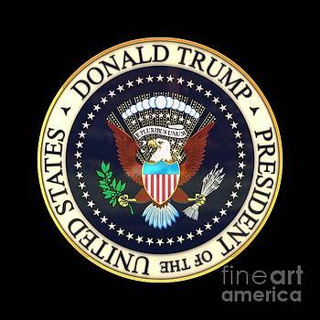 Donald Trump President Seal by Carsten Reisinger