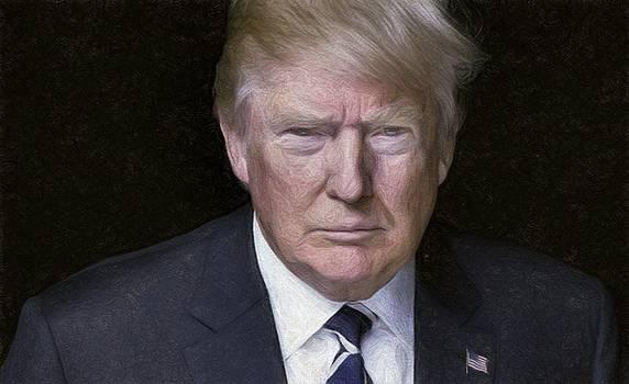 Donald Trump by Vincent Monozlay