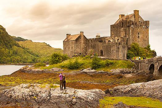 Donan Castle by Kathleen McGinley