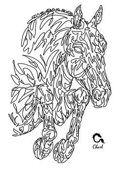 Doodle Showjumper by Charlotte Grub