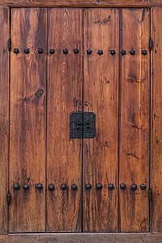 Door and Texture of Bukchon Hanok Village by James BO Insogna