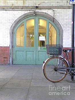 Door and Wheel by Rebecca Harman