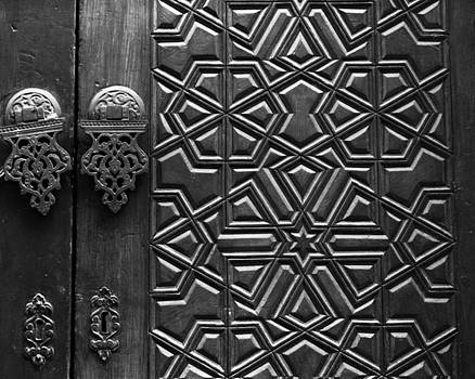 Bernice Williams - Door at al-Azhar Mosque