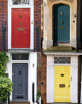 Door of Homes in London England UK by ELITE IMAGE photography By Chad McDermott