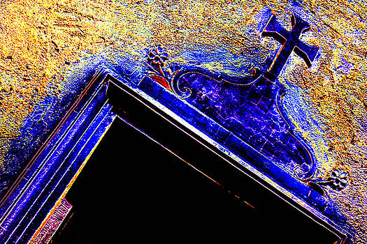 Door with a cross by Adriano Pecchio