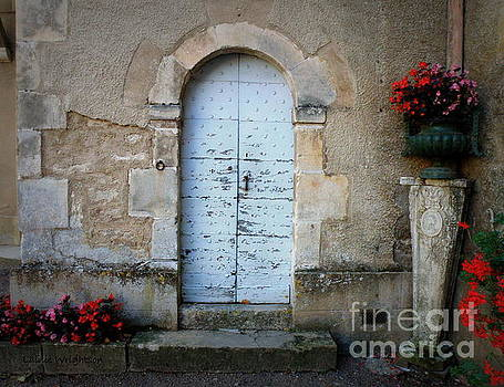 Door with Flowers by Lainie Wrightson