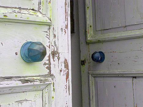 Doorknobs on Corfu by Christina Knapp