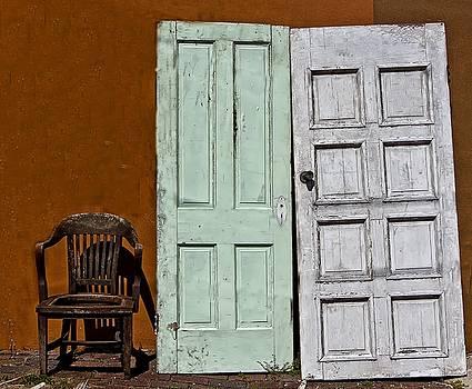 Doors and Chair by Nancie Rowan