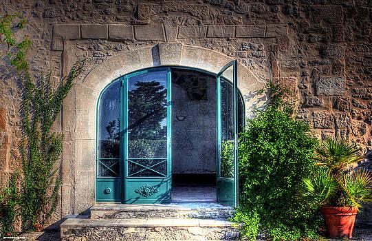 Doors in Provence by Tom Prendergast