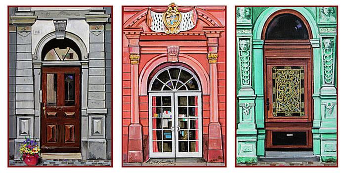 Doors of Heidelberg by Bill Dunkley