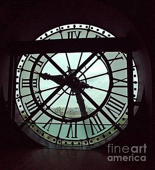 dOrsay Clock  by Lilliana Mendez