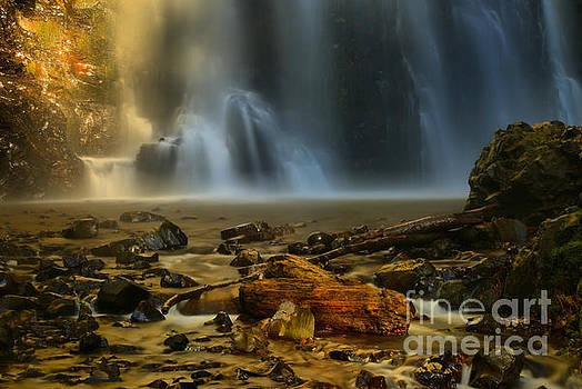 Adam Jewell - Double Falls Ghostly Landscape
