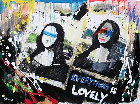 Double Mona Lisa by Venus