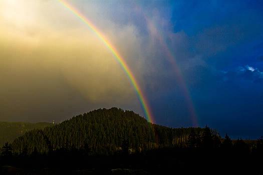 Double Rainbow by Danielle Silveira