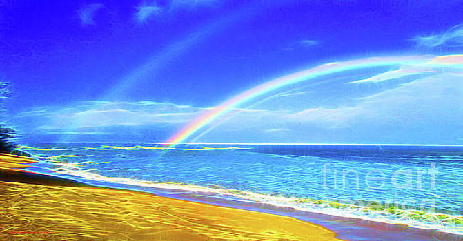 Double Rainbow  by Jerome Stumphauzer