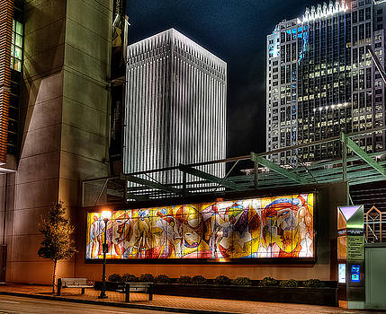 Downtown Charlotte by Donnie Bagwell