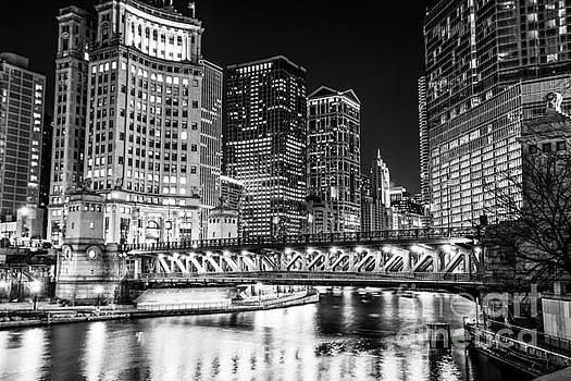 Paul Velgos - Downtown Chicago Michigan Avenue Bridge Picture