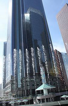 Downtown LA Financial District by Uli Gonzalez