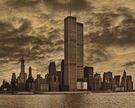 Downtown Manhattan Circa Nineteen Seventy Nine  by Chris Lord