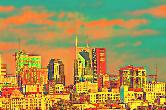 Downtown Nashville by Ally White