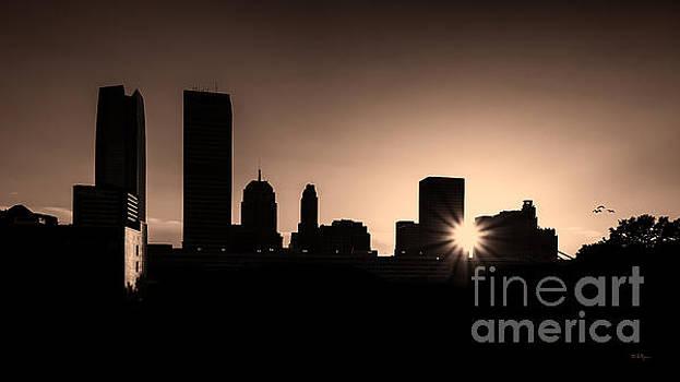 Downtown Oklahoma City by Betty LaRue