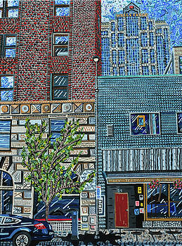 Downtown Raleigh - West Martin Street by Micah Mullen