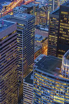 Downtown Seattle Buildings Details by Mike Reid