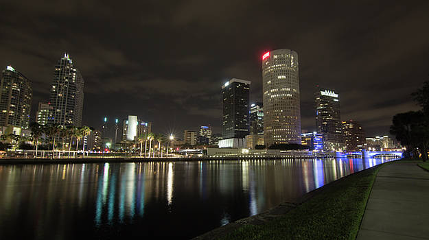 Downtown Tampa by Greg Thiemeyer