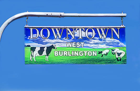 Downtown West Burlington by David Simons