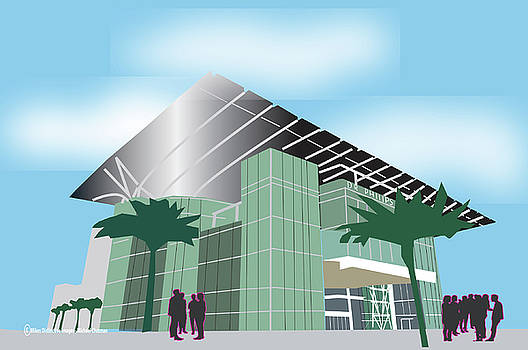 Dr. Phillips Performing Arts Center Orlando by Michael Chatman