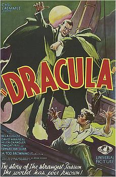 Dracula Movie Poster 1931 by Joy McKenzie